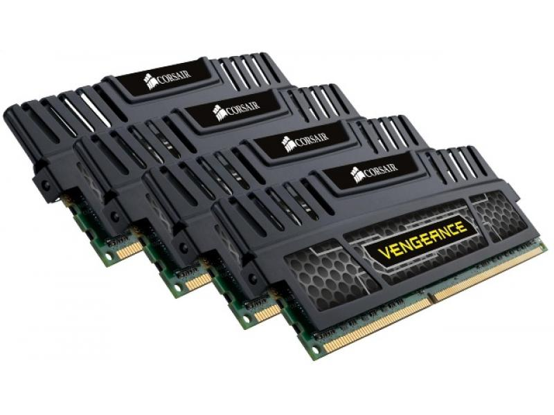 CORSAIR Vengeance 16GB (4 x 4GB) 240-Pin DDR3 SDRAM DDR3 1600 (PC3 12800) Desktop Memory