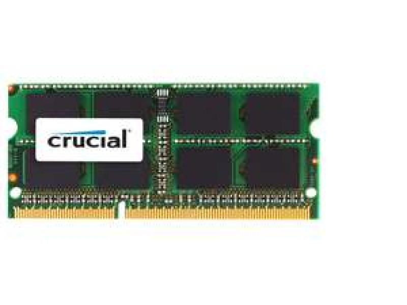 Crucial 8GB DDR3 PC3-12800 1600MHz SODIMM 204 pin Laptop Memory Apple MAC