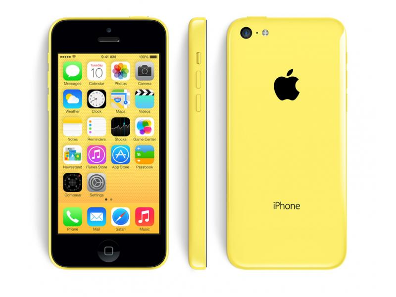 Apple iPhone 5c - 8GB - Yellow